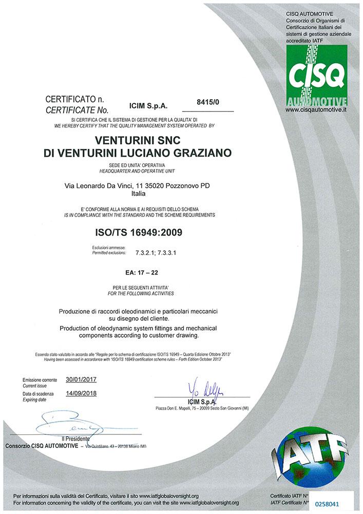 venturini-certificato-ISO-TS-16949-2009